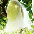 Garden Plant Fruit Protect Drawstring Net Bag Against Bird Pest Insect X5y2