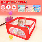Baby Playpen Fence Play Yard For Kids Children Safety Barrier Game House w/ US