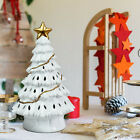 "11"" Pre-Lit Ceramic Hollow Christmas Tree con luces LED"