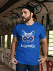 Cool Kitty: Meowica U.s.a. Men's-Tshirt image
