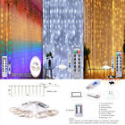 300+LED+Curtain+Lights+String+3M%2A3M+USB+Powered+Waterproof+Twinkle+Wall+Lights