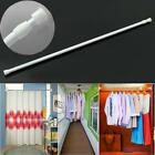 Spring Loaded Telescopic Tension Shower Curtain Rail Pole Rod Extendable Qk