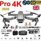 E68 RC Drone With 4K Camera Wifi 1080P FPV Video 2.4GHz Folding Quadcopter UK