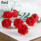 20/50 Small Silk Rose Bud Heads Artificial Fake Flowers Wedding Party Decor US