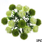 Decorative Grass Wedding Decor Artificial Dandelion Ball Simulation Flowers