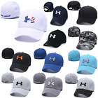 Внешний вид - NEW Embroidered Under Armour Comfy Fit Golf Baseball Cap Unisex Sports Sun Hat