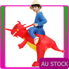 Child Dinosaur Rider Costume Ride Zoo Inflatable T-Rex Kids Carry Me Blow Up