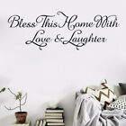 Removable Word Art Wall Sticker Quote Mural Home Kitchen Decal Room Decor Jh
