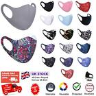 Face Mask Washable Breathable Unisex Reusable Covering Mouth Nose Protection UK