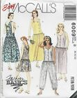 McCall's 6009 Misses' Jumpsuit and Sundress Sewing Pattern