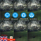 2PCS Solar Powered Garden Outdoor Lantern Stake Firework Starburst Lamps Lights