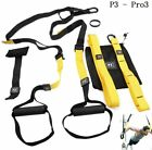 Home Gym Suspension Resistance Strength Training Straps Workout Trainer Fitness