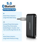 Ugreen Bluetooth 5.0 Receiver Wireless Car Audio Adapter 3.5mm Aux for Headphone