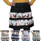 Women Home Egg Collecting and Gathering Apron 12 Pockets Two-row Polyester