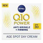 NIVEA Q10 Power Anti-Wrinkle + Firming Age Spot Day Cream SPF30 (50 ml),