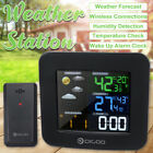 Wireless Weather Station  Forecast Sensor Temperature Humidity Outdoor  A A