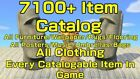 ONLINE NOW Animal Corssing Catalog Island  No Time Limit 7100+ Items!