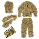 Children 3D Jungle Hunting Hide Suit Woodland Snowfield Sniper Camo Ghillie Suit