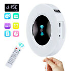 CD Player Bluetooth Wall Mountable Music Player Speaker Audio Boombox AUX/USB/FM