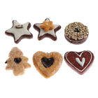 Realistic Artificial Simulation Cookies Dessert, Mixed Biscuits Fake Food Model,