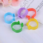 20X Chicken hen pigeon leg poultry bird dove chick duck parrot clip ring band.hc