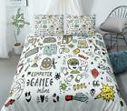 3d Computer Games Cool Boy Kep324 Bed Pillowcases Quilt Duvet Cover Kay