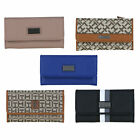 Tommy Hilfiger Womens Wallet Snap Closure Trifold Casual Checkbook New Nwt Th
