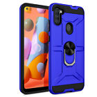 For Samsung Galaxy A51 5G UW A71 5G A21 A11 A01 Case Ring Stand Shockproof Cover