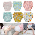 6Pcs Cartoon Cotton Baby Potty Training Pants Toddler Washable Diaper Underwear