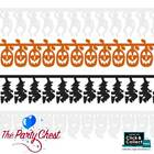 2.7M HALLOWEEN CHARACTER GARLANDS Ghosts Pumpkins Skeletons Witches Decoration