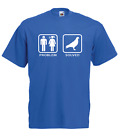 PROBLEM SOLVED PIGEON RACING Xmas Gift Idea Mens Women T SHIRTS TOP S-2XL