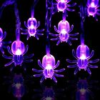 AYOGU 20 LED Spider String Lights for Halloween Decoration,6.5 Ft/20 LED Fairy
