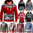 Ugly Christmas Sweater Womens Mens Xmas Jumper Hoodies Sweatshirt Tops T-shirts