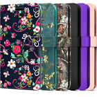 """For Nokia C2 (5.7"""") Wallet Case RFID PU Leather Card Phone Cover Shockproof"""