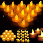 4/8/24pcs x Flameless Flickering Led Tea Lights Home Decoration Electric Candles