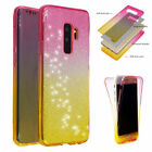 Ultra Slim 360° Full Body Clear Case Tpu Gel Soft Cover For Samsung Note 9 S9 S8