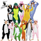 Unisex Adult and kinds Costume Fancy Dress Cosplay Onsie1 Hooded Animal Pajamas