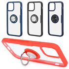 3Pcs 5.4in Transparent Mobile Phone Protective Case Cover Stand For Iphone 12
