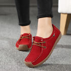 Womens Canvas Shoes Loafers Pumps Casual Slip On Platform Trainers Flats Sneaker