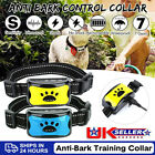'Rechargeable Anti Bark Collar Stop Dog Barking Sound&vibration Adjustable S/m/l