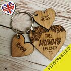 Personalised+Christmas+Gifts+For+Her+Mummy+Nanny+Auntie+Mum+Keyring+Gift