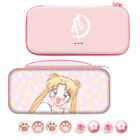 Sailor Moon Carrying Case for Nintendo Switch Console Storage Bag & Joy-con Caps