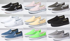 Vans CLASSIC SLIP ON Canvas Sneaker Shoes All Size NEW IN BOX !  FAST SHIPPING!!