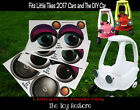 The Toy Restore Replacement Stickers For Little Tikes 2017 Car Diy Custom Eyes G
