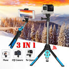 3in1 Universal Extendable Selfie Stick Tripod bluetooth Remote For iPhone Phone
