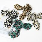 Diy Ponytail Hair Scarf Leopard Print Knotted Elastic Rope Beauty Hair Bow U3c6