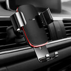 360° Universal Car Phone Holder Air Vent Mount Aluminum For iPhone For A+ D