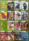 XBOX 360 Game Lot - $4.50 each - FREE SHIPPING!!