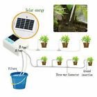 Timer Solar Powered Charging Watering Device Automatic Intelligent Garden Home