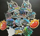 Dcg Stickers! High Quality Vinyl Stickers For Dragon Claw Games